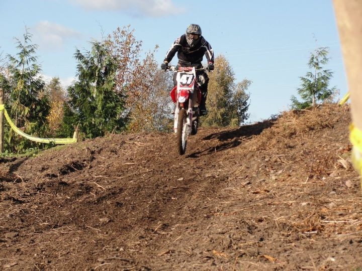 Lydney Motocross Track, click to close